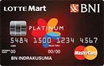 BNI Mastercard Lottemart Platinum
