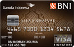 BNI Visa Garuda Indonesia Signature