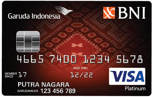 BNI Visa Garuda Indonesia Platinum