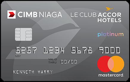 CIMB Niaga Platinum Le Club AccorHotels